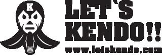 剣道情報総合サイト | LET'S KENDO レッツケンドー・ロゴ