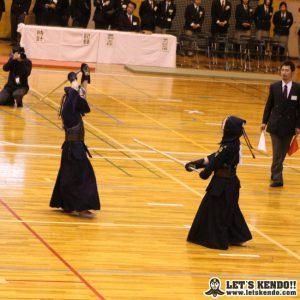 女子決勝、桐蔭・北條が代表戦で尚絅を下し、優勝。男女とも桐蔭学園が優勝を果たした。
