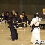準決勝2、日体大・村瀬(諒)が代表戦で皇宮・山中から勝利し決勝進出を決めた。