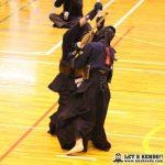 男子決勝、佐野日大大将・田中は先制されるも取り返し勝利しを目指したが引き分け、優勝にとどかなかった。