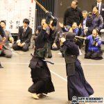 女子準決勝、大同は先鋒・吉田、大将・吉本の勝利でNTTから2-0で勝利。