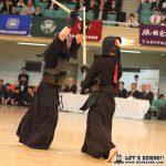 決勝、加納(筑波)は試合開始早々から面を放ち、積極的に攻めたが優勝に届かず。