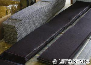 紺反と芯材をセット