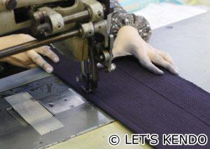 ミシンの縫い込み前に仕様の最終確認