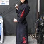 道着・袴に大きく刺繍。