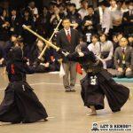 準々4、河村(早大)が筑波1年の合瀬から延長でメンを決めて準決勝へ駒を進める。