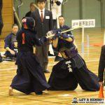 準々2、佐野日大と麗澤瑞浪の一戦は先鋒から副将まで引き分け、大将戦で麗澤・小角が佐日・吉田から2本勝ちし準決勝で九学との対戦が決まった。