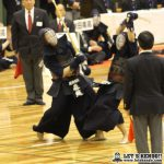 準決勝1、麗澤にリードを許した九学だったが副将・梶谷が麗澤・森越から勝利し、さらに大将・星子が連勝し逆転勝利で決勝進出を決める。
