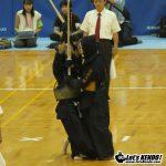 男子個人準々 健闘多田は奈良高山に敗退