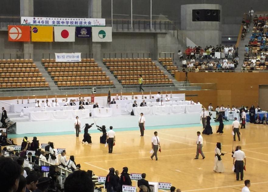 【大会結果】8/19〜21 第46回全国中学校剣道大会(長野)