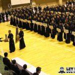 若潮杯高校剣道大会、開会式!