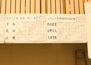 男子予選リーグ abc