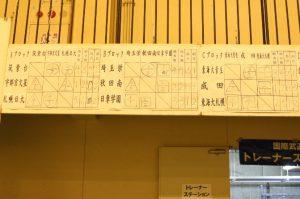 女子予選リーグ abc