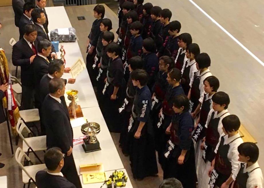 【大会結果】3/29 第40回全国高等学校柴田旗・大野杯争奪剣道大会