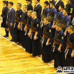 男子団体、大会5連覇に挑む九州学院(写真は全国選抜)