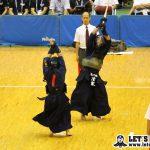清家(高千穂)は4回戦で杉田(水戸葵陵)と対戦し、先取されるも延長を含め取り返し準々決勝進出。
