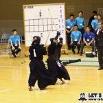 姫野が中山からメンを決めて一本勝ちで勝利。