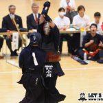 次鋒戦、西日本シティ銀行・小川が一本勝ち