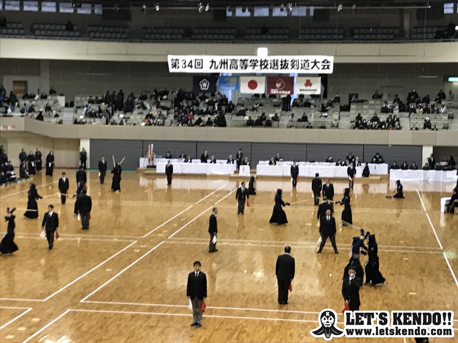 【大会結果】2/10〜11 H30九州高校剣道選抜大会