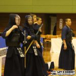 男子は島原が決勝で育英に勝利。女子は中村が守谷との大将戦に勝利し優勝。(写真は選抜時のもの)