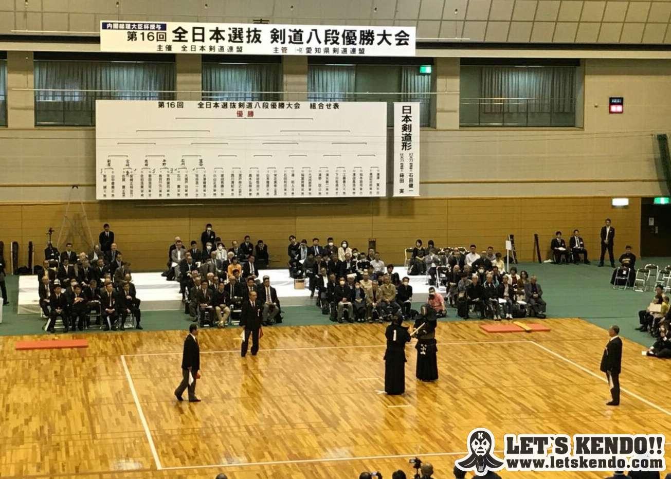 【大会結果】4/15 第16回全日本選抜剣道八段優勝大会