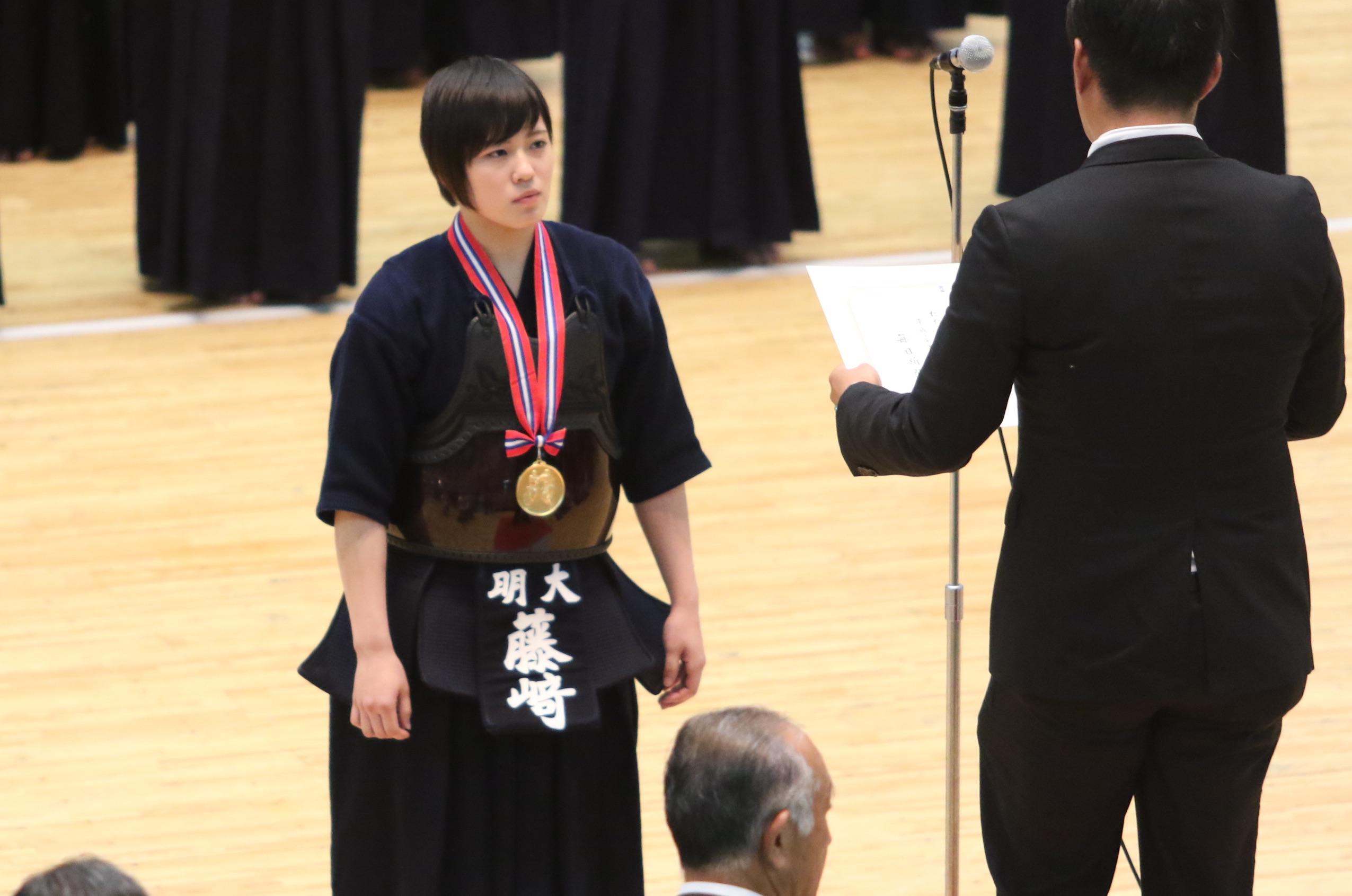 【大会結果】7/7 第52回全日本女子学生剣道選手権大会