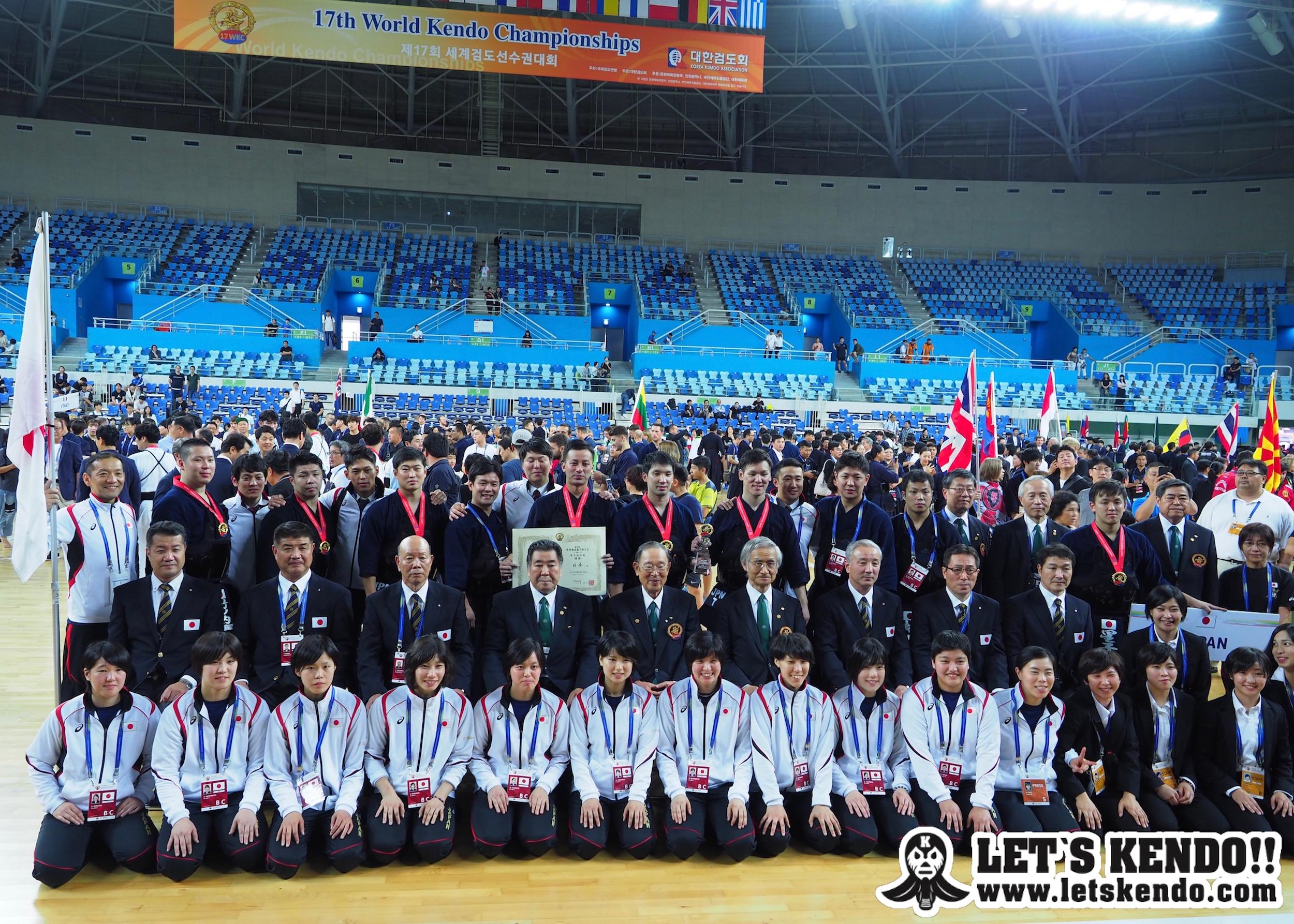 【KENDO WORLD日本語版・結果】9/14〜16 第17回世界選手権大会