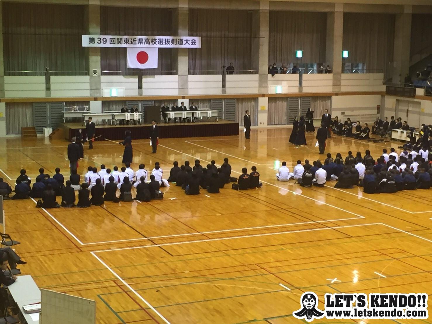 【結果】3/3 第30回関東近県高校選抜剣道大会