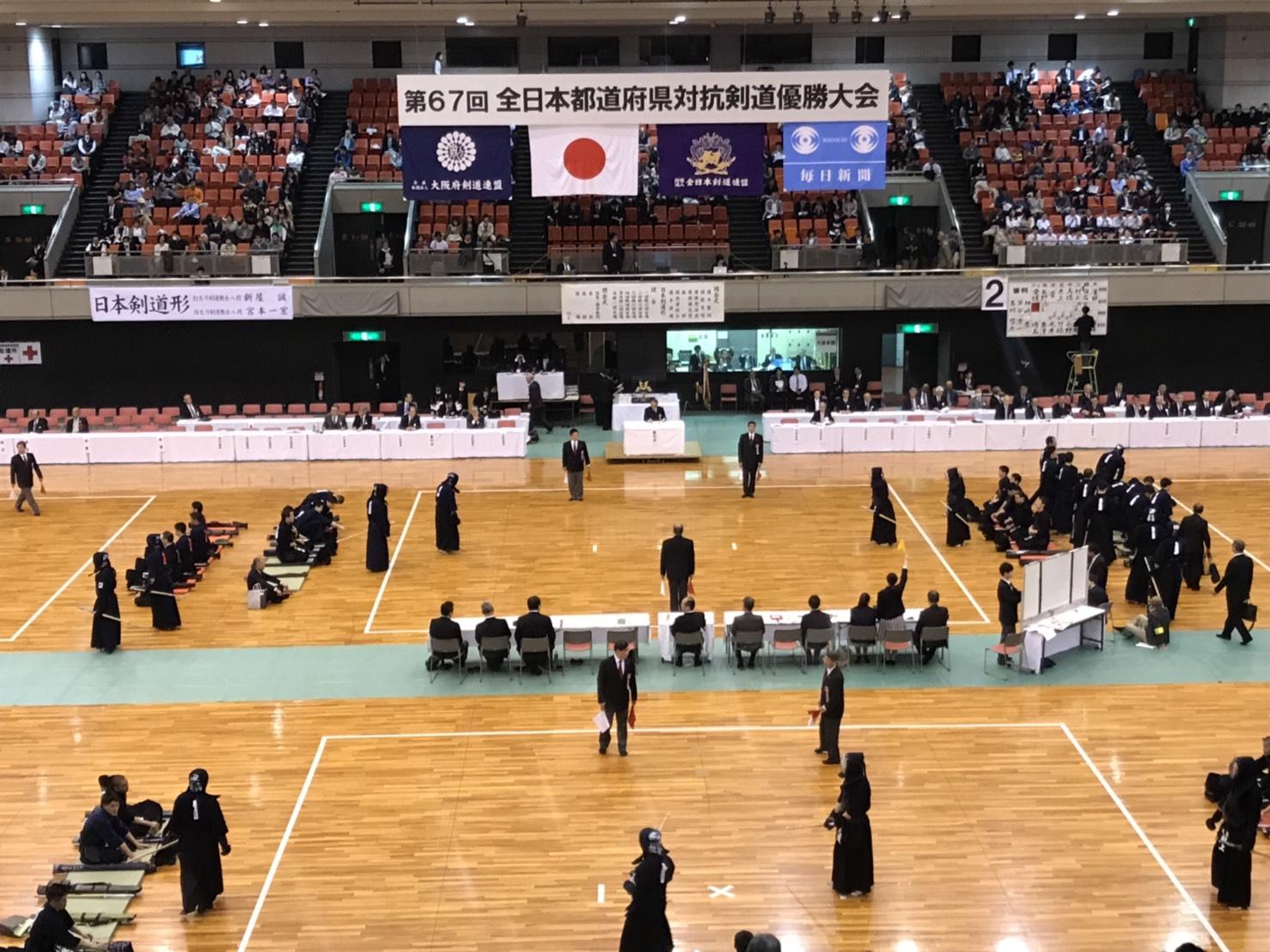 【結果】4/29 第67回全日本都道府県対抗剣道優勝大会