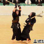 平岡はコテを決めて勝負に持ち込むと、さらにメンを決めて勝利した
