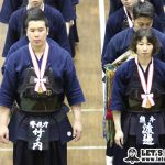 男子・竹ノ内(警視庁)、女子・渡邊(熊本)とも初優勝。