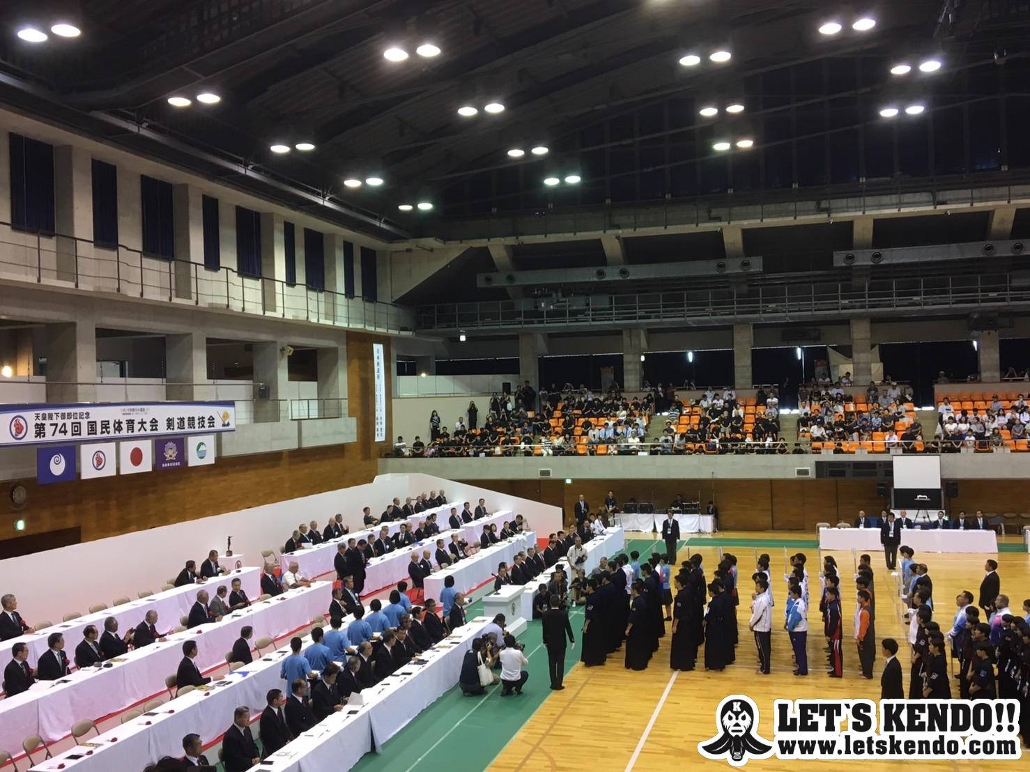 【最終日!成年男子!】9/29〜10/1 茨城国体 剣道競技