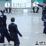 中堅戦、後のない筑波大だったが勢いに勝る日体大、中村が一本勝ちで勝利し優勝を決めた。