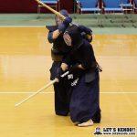 代表戦で筑波・星子が逆胴を決め、筑波大が優勝を果たした。