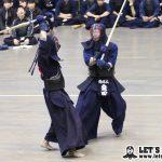 五将戦、日体大・棗田がコテを決めて一本勝ち