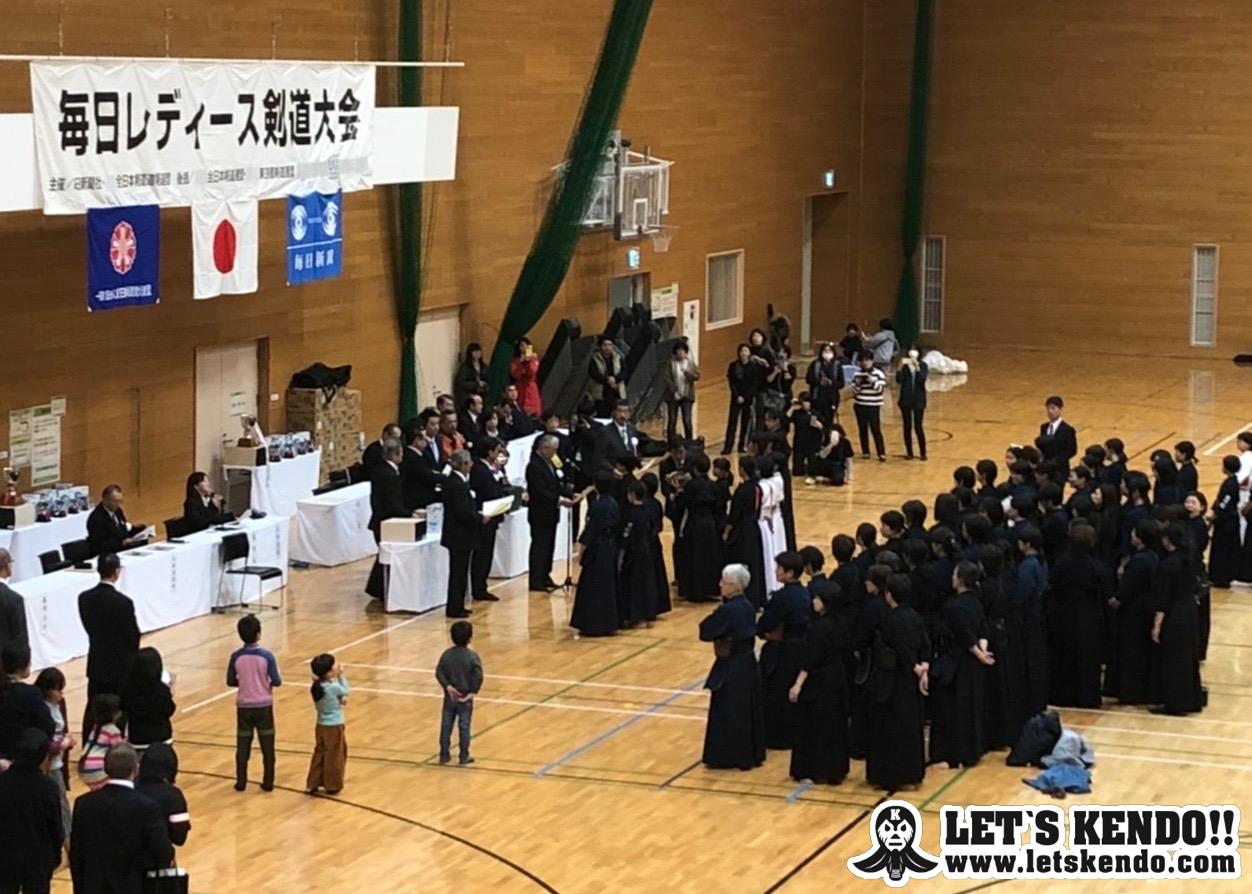 【結果】12/8 第19回毎日レディース剣道大会