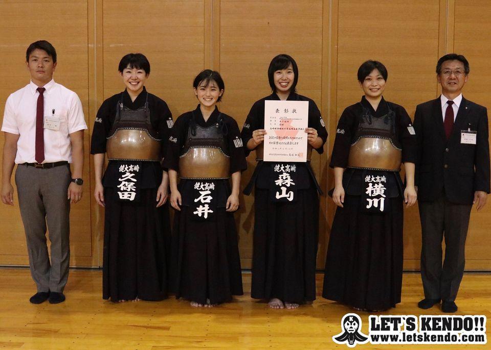女子団体優勝 健大高崎